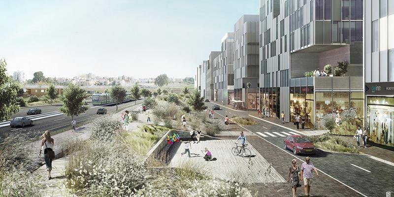 הדמיה ממוחשבת / הדמיה לתכנון עירוני / הדמיה אדריכלות נוף
